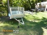 NO RUST TRAILERS.   7 x 4 Hot-dip galv. Australian made cage trailer.