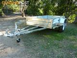 NO RUST TRAILERS.  AUSTRALIAN MADE 7 x 4 BOX TRAILER.  ONE OFF.