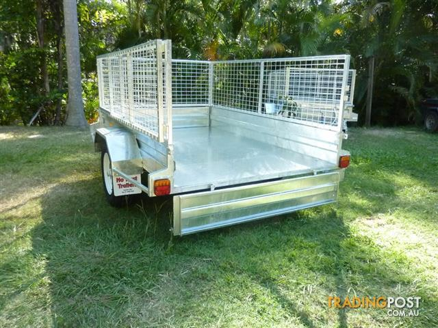 NO RUST TRAILERS. Australian made 7 x 5 cage trailers. for sale in ...
