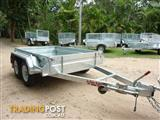 NO RUST TRAILERS.    Dual axle 8 x 5 Australian made, 2 ton box trailer.
