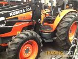 kubota m8540 with 4 in 1  front end loader only 3 hours model