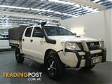 2008 Toyota Hilux SR (4x4) KUN26R 07 Upgrade Dual C/Chas
