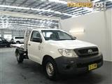 2009 Toyota Hilux Workmate TGN16R 08 Upgrade Cab Chassis