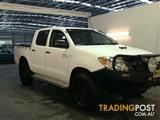 2008 Toyota Hilux SR (4x4) KUN26R 07 Upgrade Dual Cab Pick-up