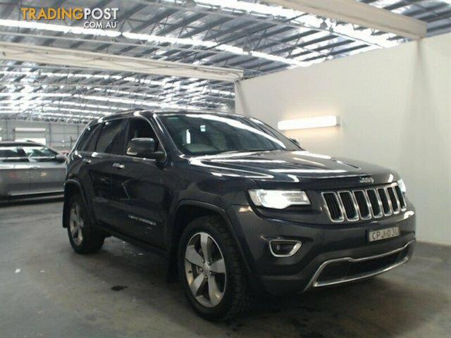 2013 Jeep Grand Cherokee Limited 4x4 Wk My14 Wagon For Sale In