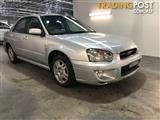 2004 Subaru Impreza GX (AWD) MY04 Sedan