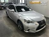 2016 Lexus IS200T F Sport ASE30R MY16 Sedan