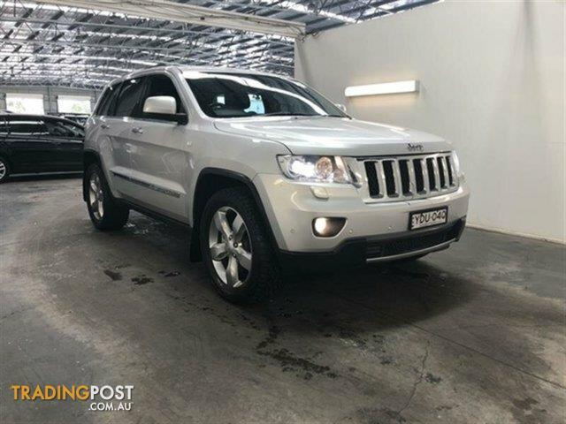 2012 Jeep Grand Cherokee Limited (4x4) WK Wagon