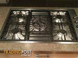 Gas cooktop barely used smeg gas top with five burners