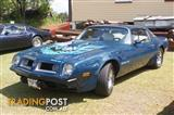 1975 Pontiac Fire Bird Trans am  ,Factory 4 speed Manual ,log books & Doc,s