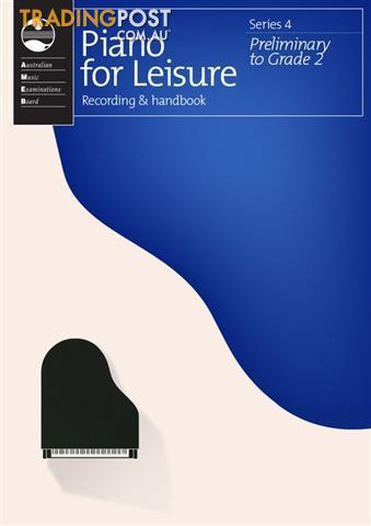 4. AMEB Piano for Leisure - Grade Books - Series 4
