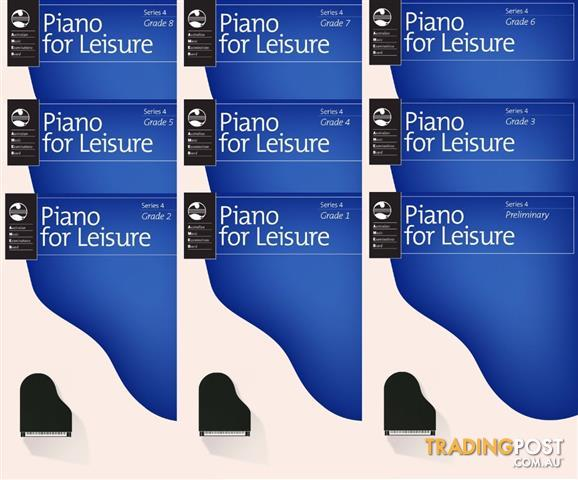 4. AMEB Piano for Leisure - Grade Books - Series 4