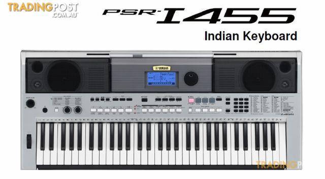 Yamaha  PSR I455 Portable Keyboard  Indian Music