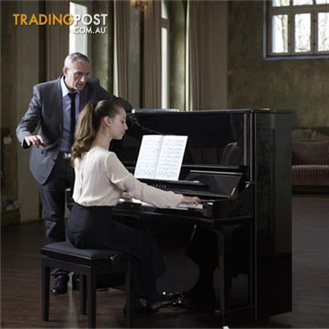 Yamaha U3 PE Acoustic Upright Piano Polished Ebony