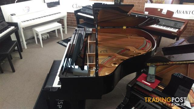 Yamaha Disklavier Grand Piano - DGB1K E3 - Polished Ebony (2010)