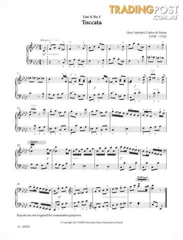 AMEB Piano Series 17 Grade Book - Grade 5