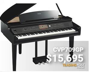 Yamaha Clavinova CVP709 Digital Grand Piano Polished Ebony