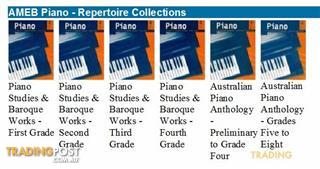 4. AMEB Piano - Repertoire Collections