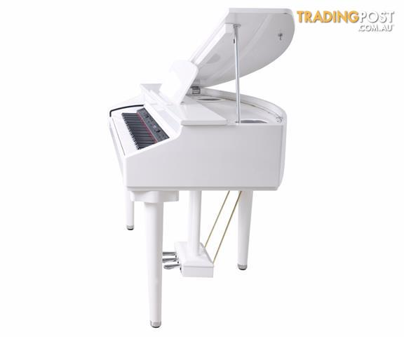 Artesia White Digital Baby Grand Piano DG55
