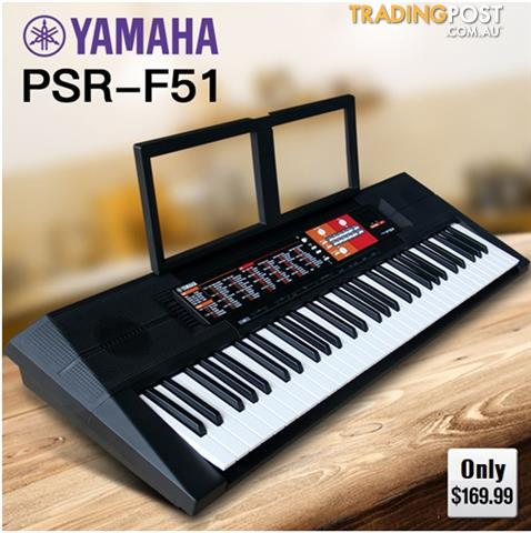 Yamaha PSR F51 Starter keyboard - Limited stock available