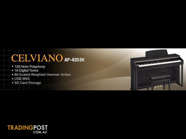 PIANO AP420 CASIO CELVIANO Digital Piano