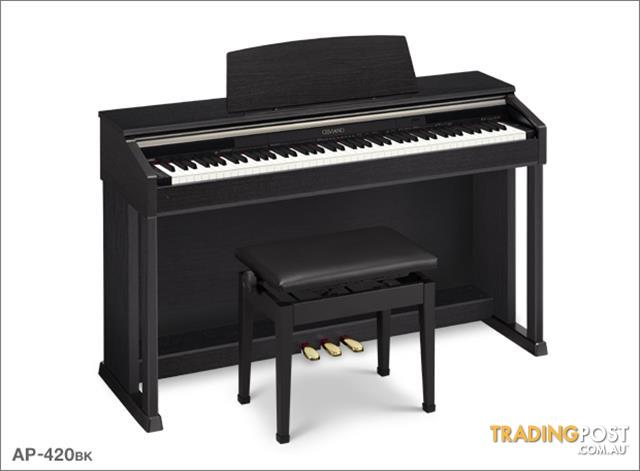 PIANO AP420 CASIO CELVIANO Black Digital Piano