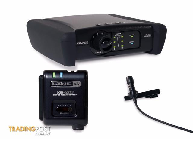 Line 6 XD-V35 Digital Wireless Handheld Microphone System Black