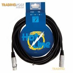 HOT LINE - 20 FOOT MIC CABLE XLR TO XLR