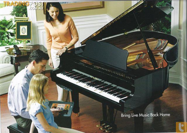 yamaha disklavier grand piano dc2 e3 series for sale in