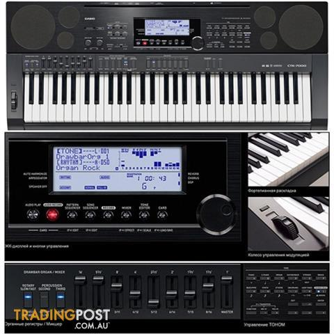 Stocktake Sale Now On! Casio CTK-7000 Keyboard ~ One Only!