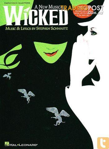 PRINT MUSIC Wicked Musical