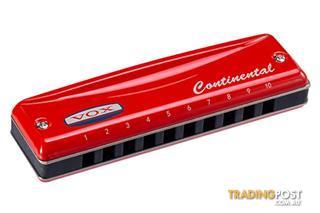 Continental Type 2 Harmonica