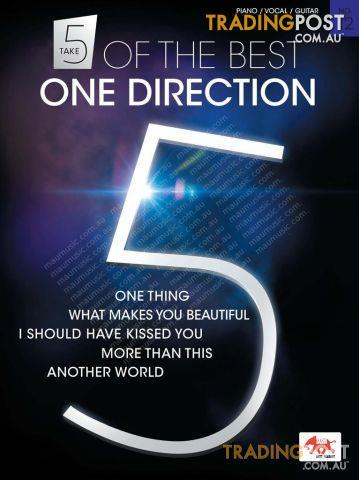 Take 5 of the Best - One Direction