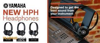 2. Yamaha HPH-100 Comfortable closed headphones