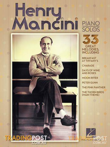 HENRY MANCINI PIANO SOLOS (pvg)