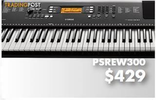 Yamaha E-Series PSR EW300 Portable Keyboard