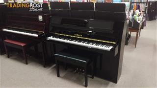 Yamaha JU109 Ebony Polish Upright Acoustic Piano (2012)