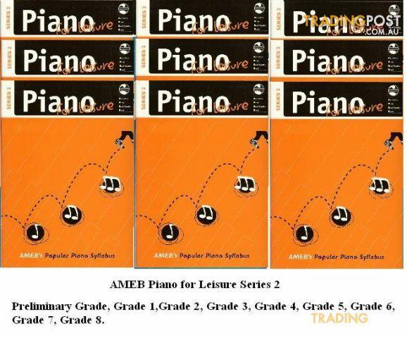 2. AMEB Piano for Leisure - Grade Books - Series 2