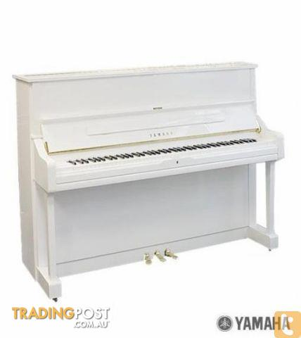 Yamaha Upright Piano  U1J  121cm White Polished