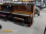 Alex Steinbach Professional,127cm Upright Piano in Walnut Polished ( 1997 Ser No IPH01427)