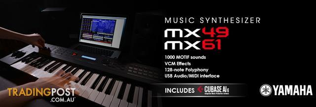 Yamaha MX Synthesizers ~ MX61_Black