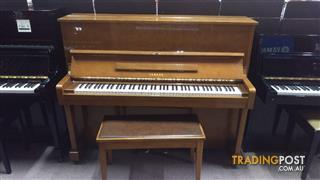 Yamaha 121cm  U1 D Upright Walnut Polished Piano # 1214334