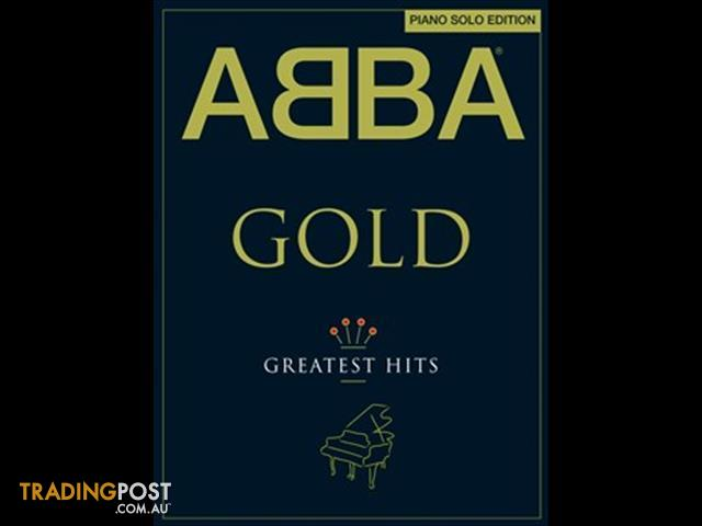 Abba: Gold - Greatest hits Piano Solo Edition