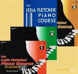 Leila Fletcher Piano Course book 1 to book 4 $16 each