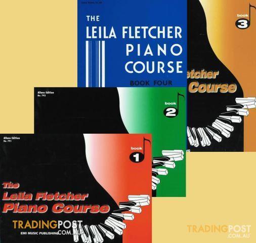 Leila Fletcher Piano Course book 1 to book 4 $16 each
