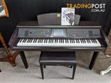 Yamaha Clavinova Digital Piano CVP307 Dark Roeswood