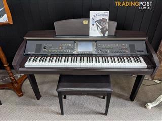 Yamaha Clavinova Digital Piano CVP307 Dark Roeswood