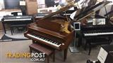 "Baldwin Grand Piano Model L  6'3"" in A Rich Walnut Satin Finish"