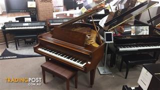 "Baldwin Grand Piano Model L  6'3"" in A Rich Walnut Satin Finish"