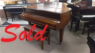 "Baldwin Grand Piano Model L  6'3"" in A Rich Walnut Satin Finish ~ Now Sold!"